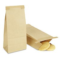 25Pack  1/2lb Coffee and Bakery Bags Kraft Non-Window Tin Tie Bags