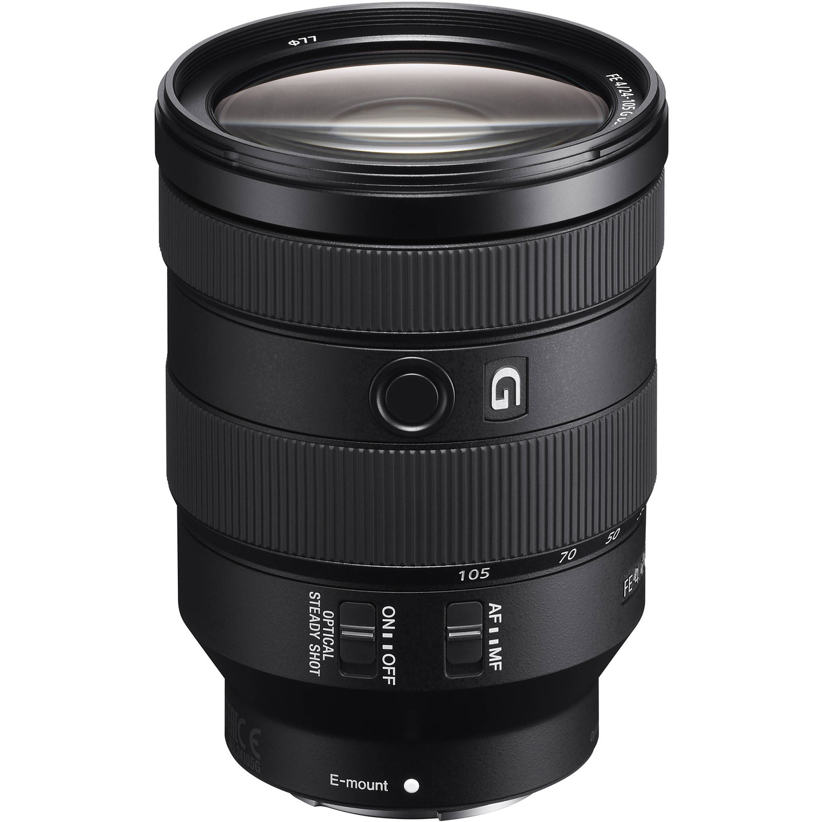 Sony FE 24-105mm F4 G OSS E-Mount Full-Frame Zoom Lens (SEL24105G)