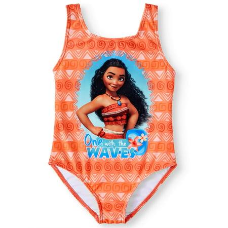 Moana One-Piece Swimsuit (Little Girls)