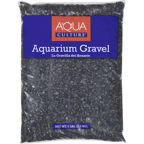 Aqua Culture Black Chips Aquarium Gravel, 5 lb