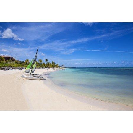 Catamarans on Playa Guardalvaca, Holguin Province, Cuba, West Indies, Caribbean, Central America Print Wall Art By Jane (Blackjack 55 Catamaran)