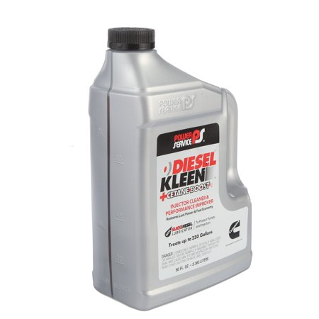 Diesel Fuel Additive, Amber, 80 oz. POWER SERVICE PRODUCTS
