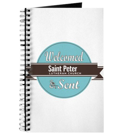 CafePress - Saint Peter Lutheran Church Logo 1 - Spiral Bound Journal Notebook, Personal Diary (Persol Logo)