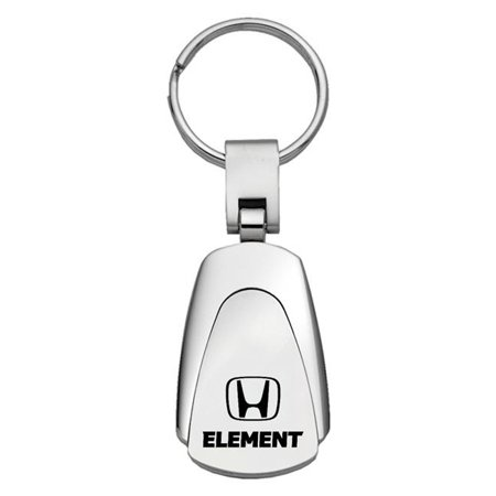 Keychain & Keyring with Honda Element Logo - Teardrop