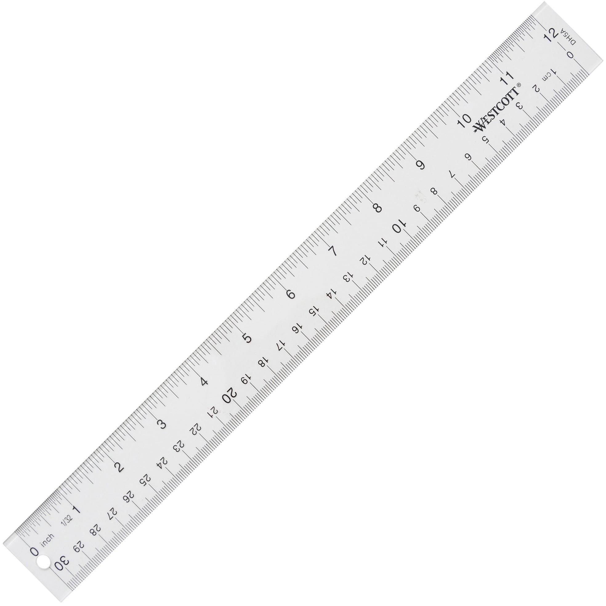 School Smart Wooden Meter Stick with Plain Ends