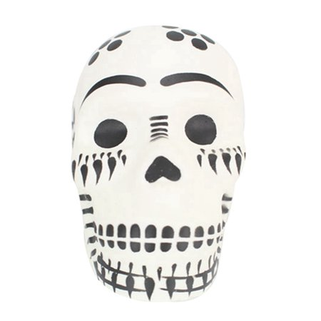SHOPFIVE Skull Squishy Toys, 9CM Fun Cartoon Skull Slow Rising Toys Stress Relief Toys Party Wedding Decorative Best Gift for Kids and Adult(