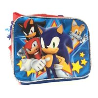 1711f9aad02 Product Image Lunch Bag - Sonic the Hedgehog - Shadow Tails Knuckles Team  New 139975