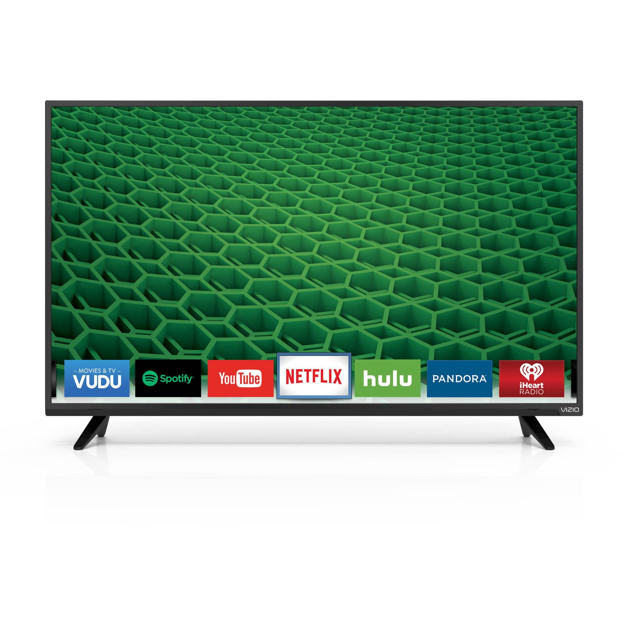 """VIZIO D43-D2 D-Series 43"""" 1080p 120Hz Fully Array LED Smart HDTV"""