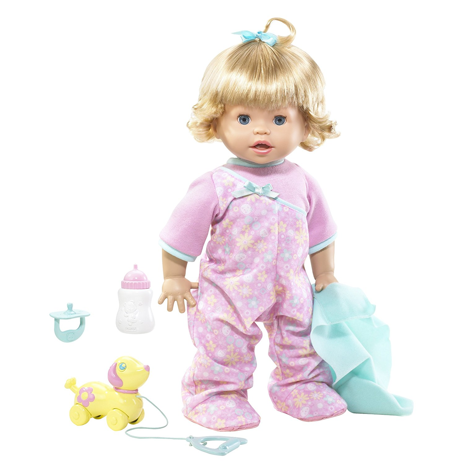 Little Mommy Real Loving Baby Walk & Giggle Doll