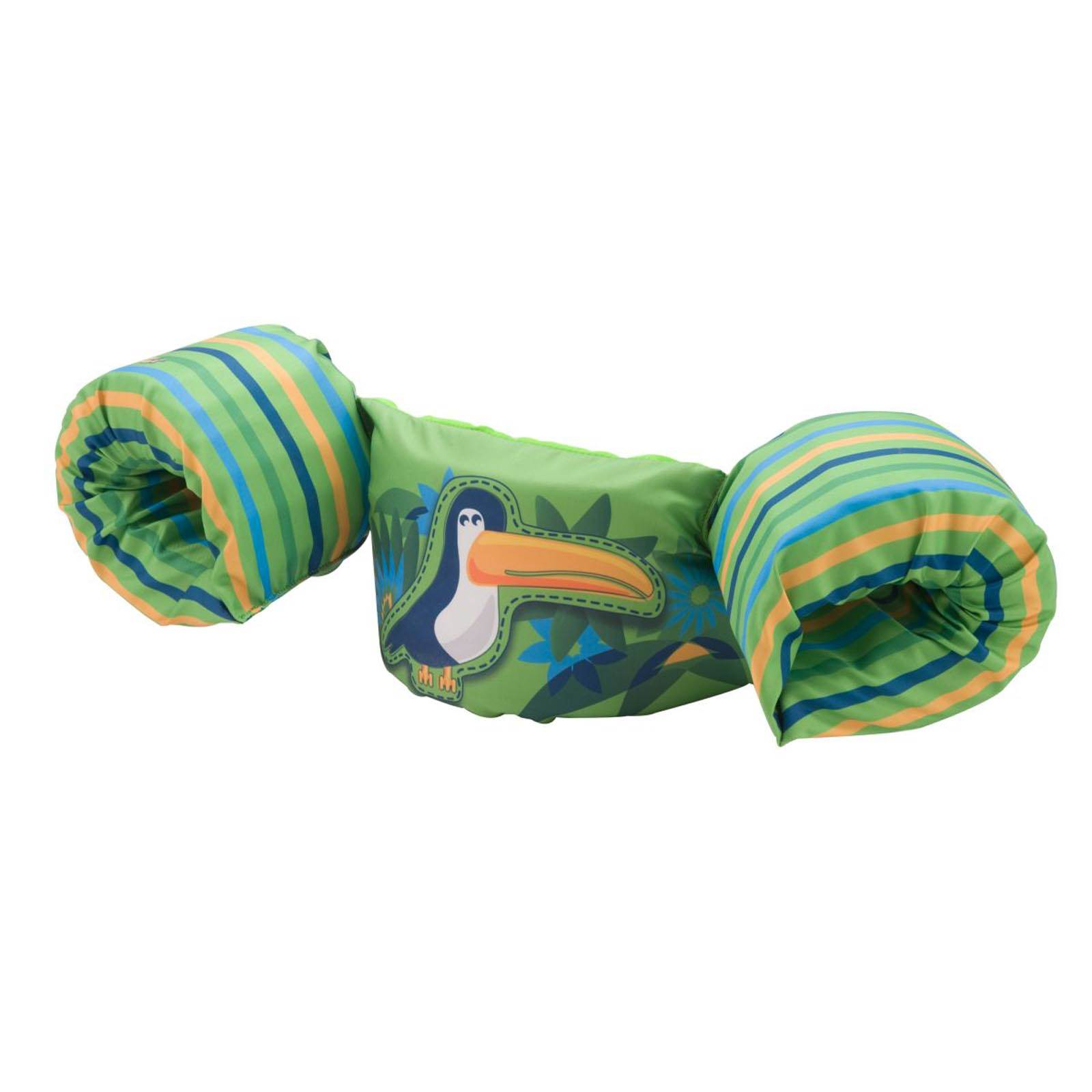 New Coleman Stearns Deluxe Kids Puddle Jumper Swimming Life Jacket Vest Toucan