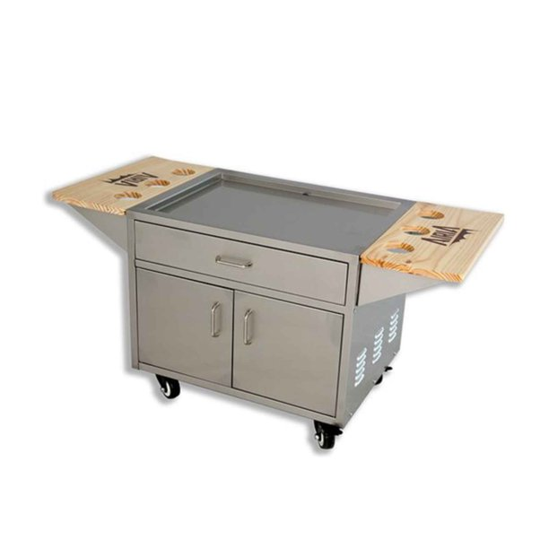 Airia Stainless Steel Patio Cooler Cart