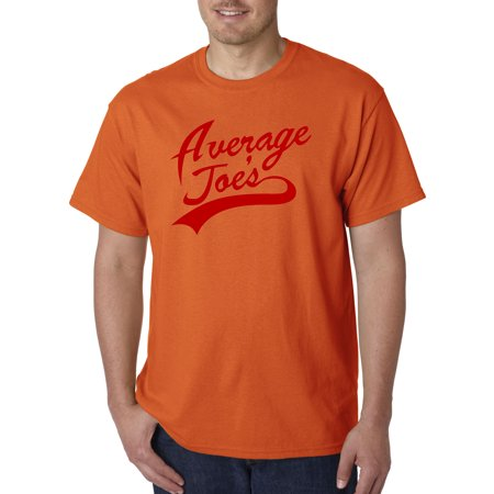 811 - Unisex T-Shirt Average Joe's Dodgeball True Underdog Costume 3XLOrange