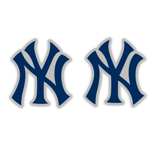 New York Yankees Official MLB 1 inch  Earrings by Wincraft