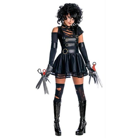 Costumes For All Occasions Ru889844Md Miss Scissorhands Medium](Edward Scissorhands Hands For Sale)