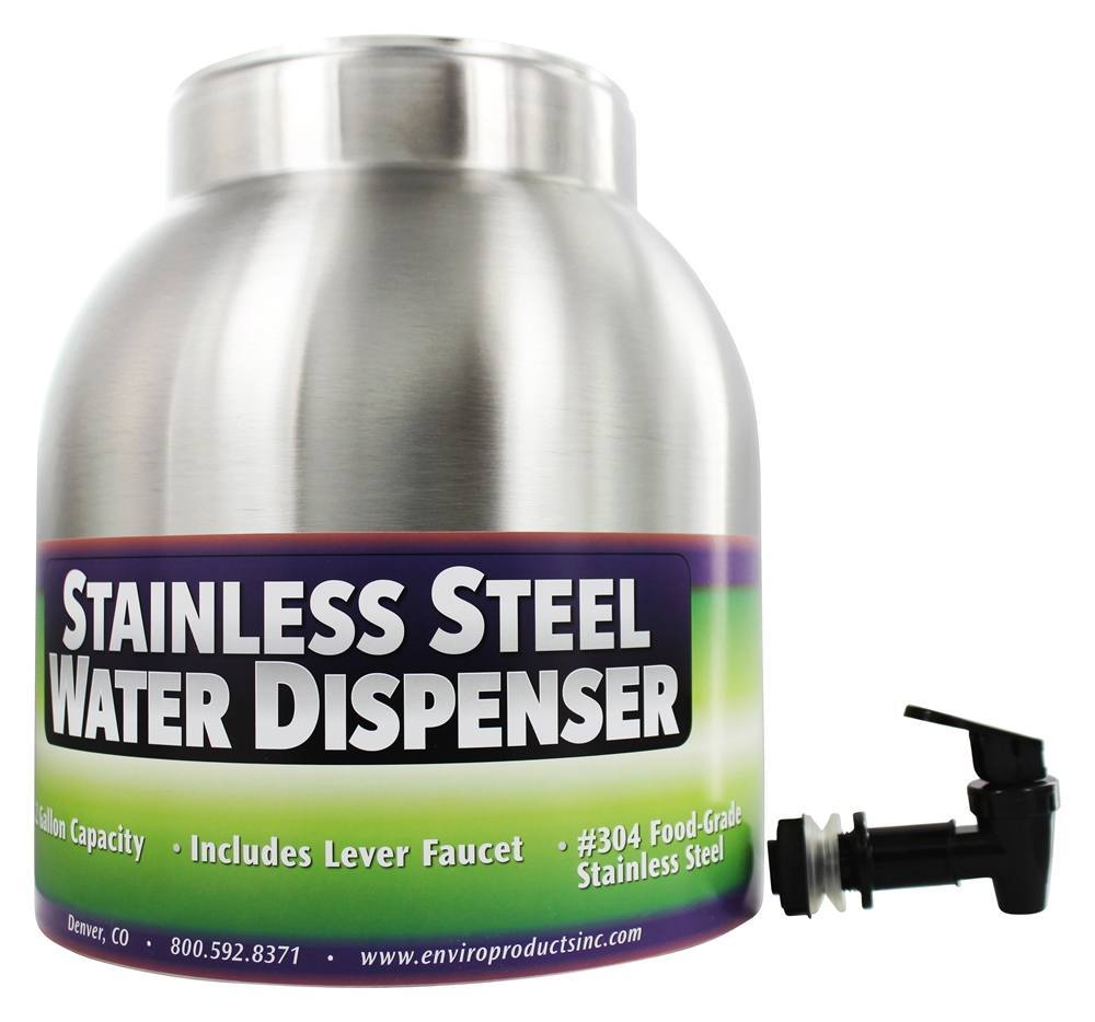 New Wave Enviro Products - Stainless Steel Water Dispenser - 2.2 Gallons
