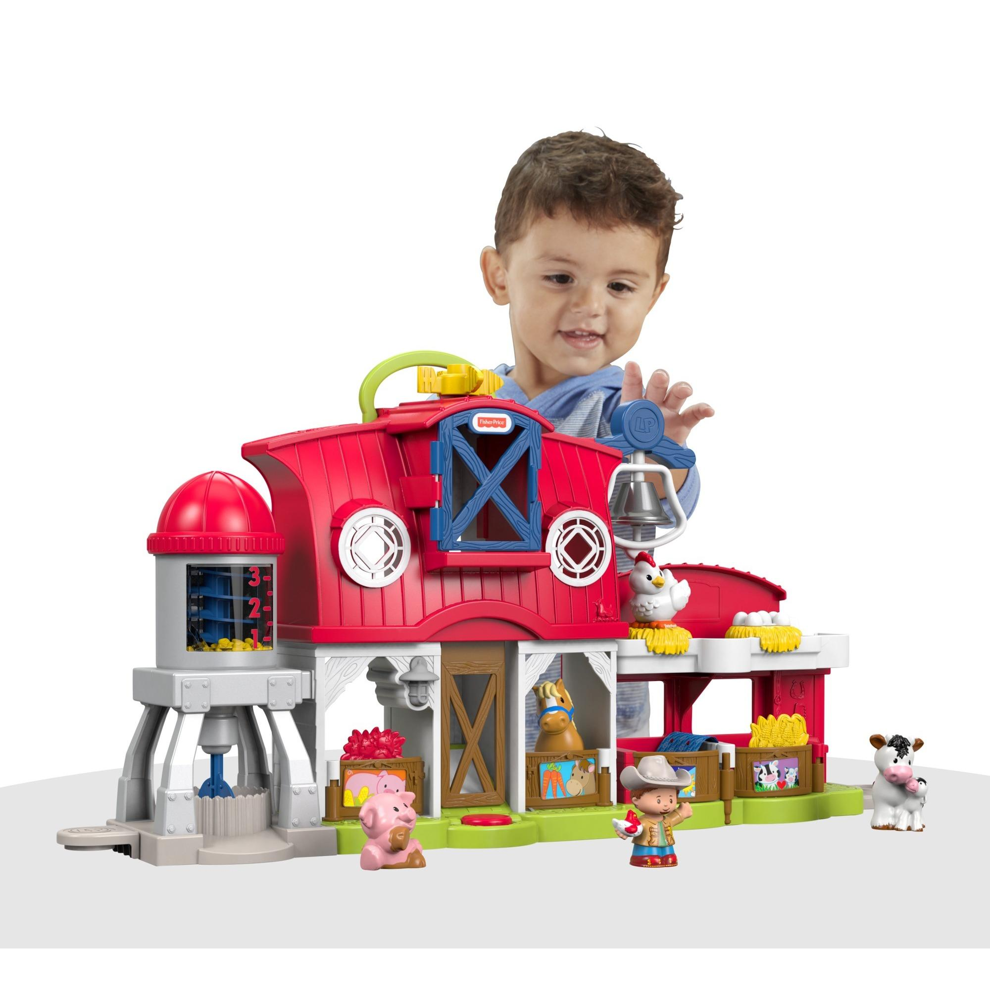 Fisher Price Little People Caring For Animals Farm by FISHER PRICE