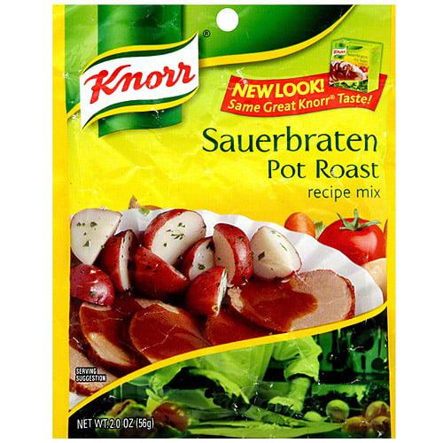 Knorr Sauerbraten Pot Roast Stew Mix, 2 oz (Pack of 12)