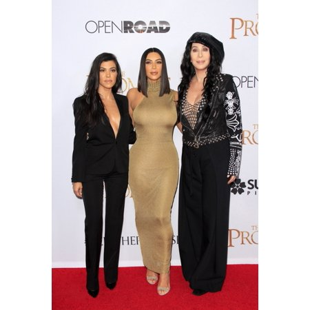 Kourtney Kardashian Cher Kim Kardashian At Arrivals For The Promise Premiere Tcl Chinese Theatre Los Angeles Ca April 12 2017 Photo By Priscilla GrantEverett Collection - Kim Kardashian Halloween Outfit 2017
