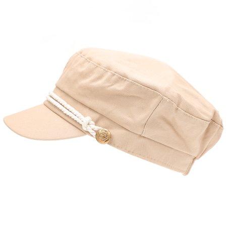 f7c7dd3621077 MIRMARU - MIRMARU Women s 100% Cotton Greek Fisherman s Sailor Fiddler Hat  Cap - Walmart.com