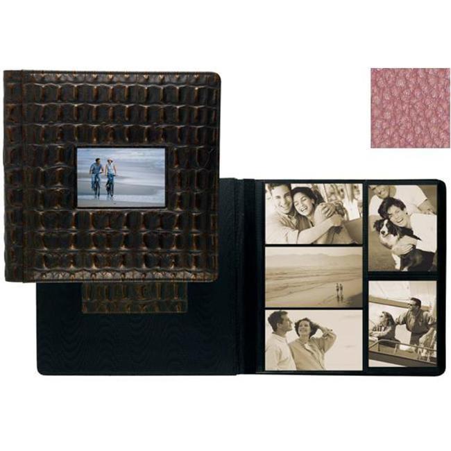 Raika ST 113 PINK 4inch x 6inch Photo Album - Pink