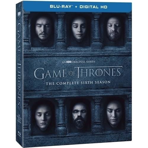 Hbo Game Of Thrones: The Complete Sixth Season (Blu-ray + Digital HD + Plus Bonus Disc) (Widescreen)