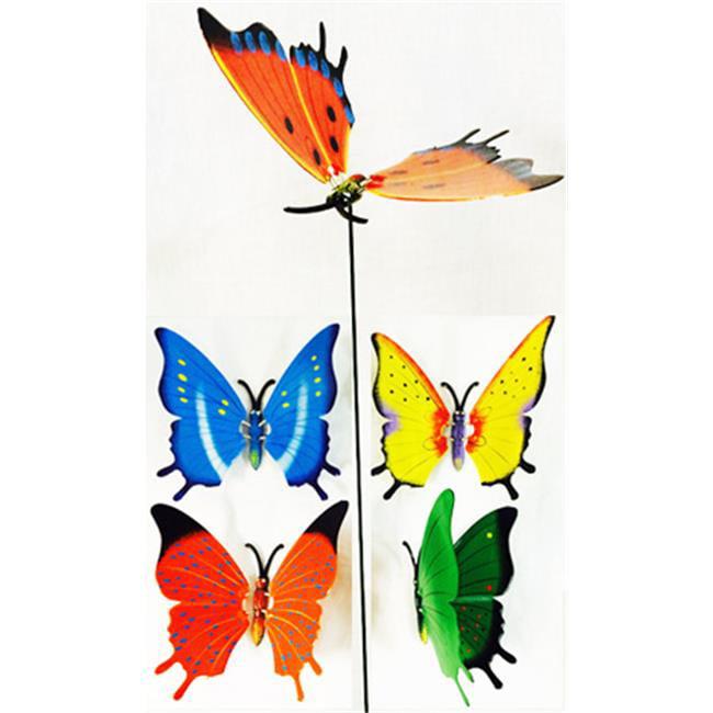 DDI 1820896 Garden Stake Decoration Butterfly by DDI