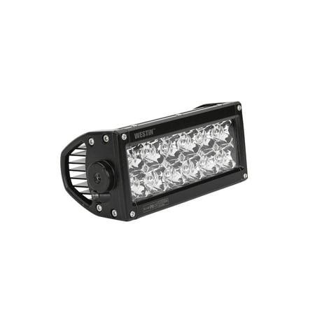 Westin Performance2X LED Light Bar Low Profile Double Row 6 inch Flex w/3W Osram - Black