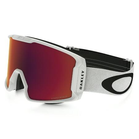 Oakley 2018 Line Miner (Matte White/Prizm Snow Torch Iridium) Goggles ()