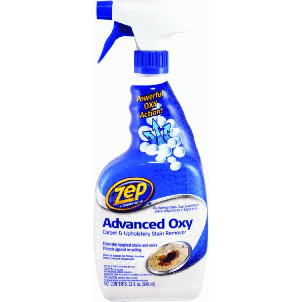 Zep Commercial Advanced Oxy Carpet and Upholstery Stain Remover, 32 oz
