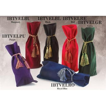 Joann Marrie Designs Ibtvelre Velvety Wine Bag   Red