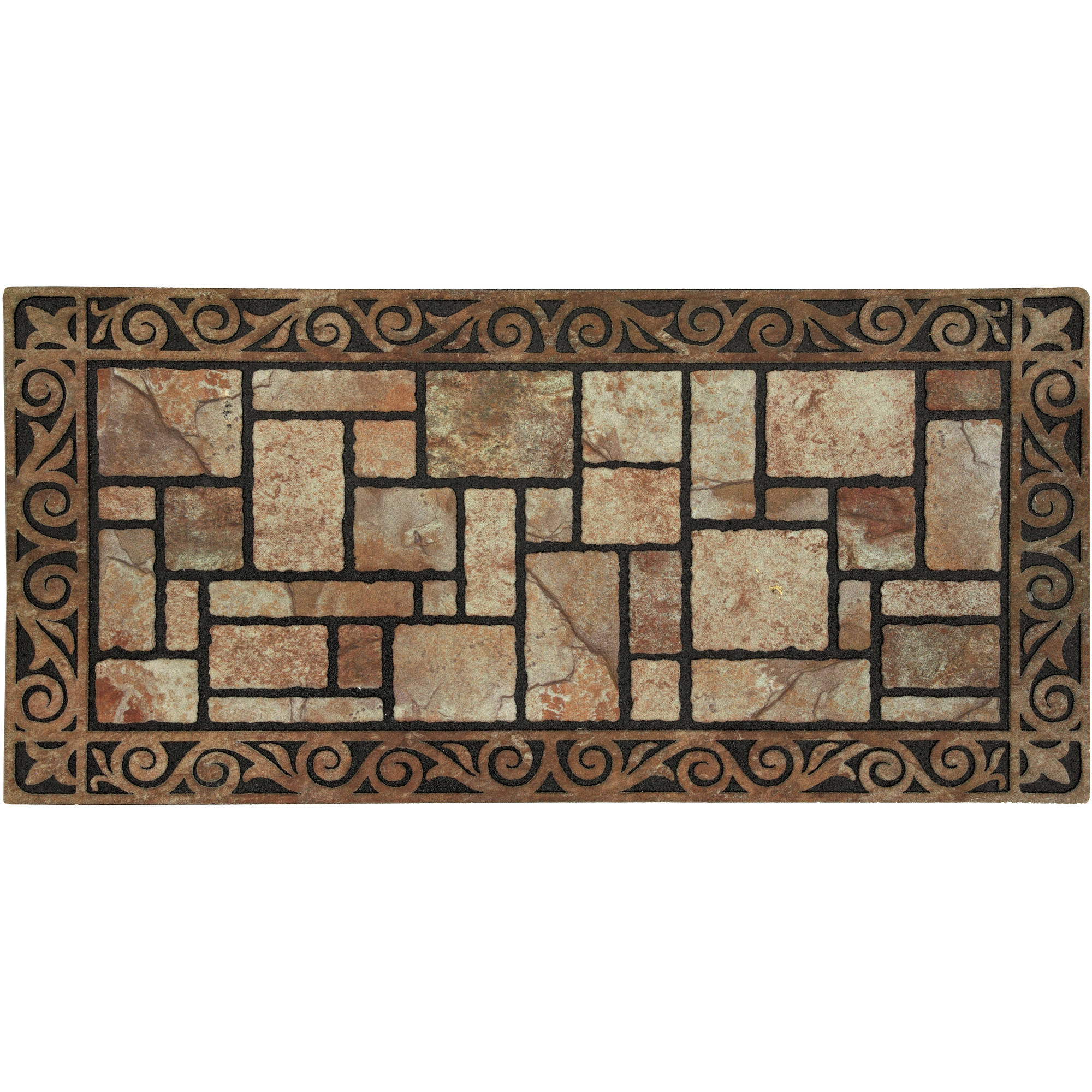 Mohawk Home Border and Pavers Doormat