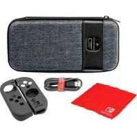 Nintendo Elite Edition Starter Kit for Nintendo Switch (Gray)