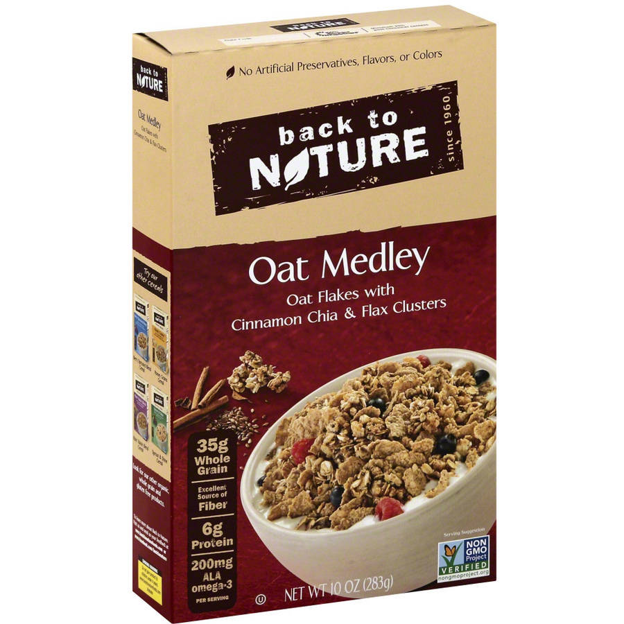 Back to nature cereal