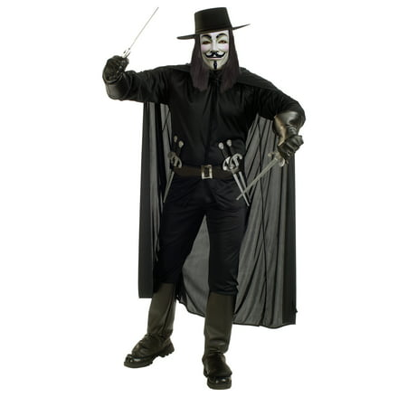 V FOR VENDETTA COSTUME STD - V For Vendetta Cape