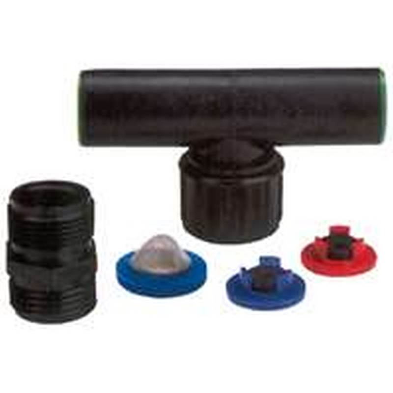 """***DISCONTINUED BY VENDOR 7-28-2016*** Raindrip Swivel Tee Assembly for 1/2"""" Riser, 1/card"""