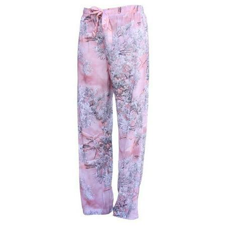 King's Camo Women's PJ Lounge Pant in Pink Shadow