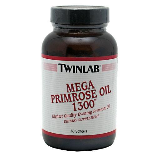Mega Primrose Oil 1300mg Twinlab, Inc 60 Softgel