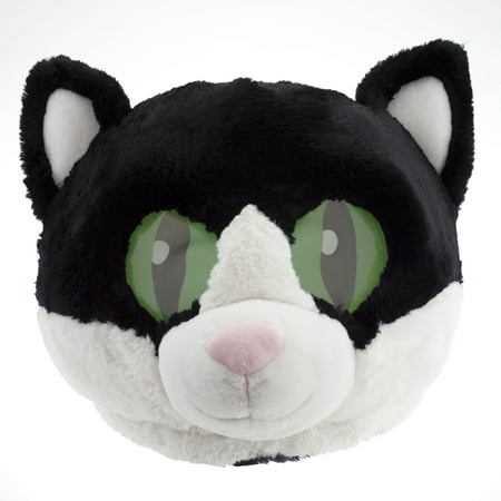 Maskimals Oversized Plush Halloween Mask - Cat - Halloween Receptionist