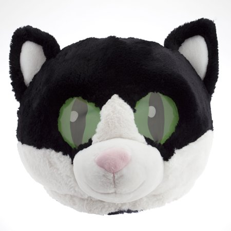 Maskimals Oversized Plush Halloween Mask - Cat - Halloween Basteln