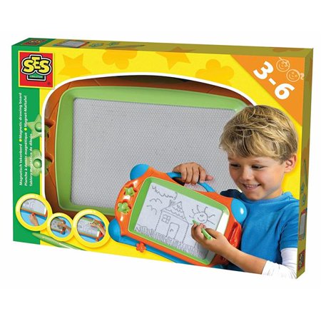 SES Creative Magnetic Drawing Board Fun to Create Kit