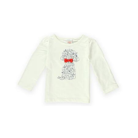 Gymboree Girls Puppies Bow Graphic T Shirt