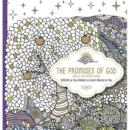 The Promises of God Adult Coloring Book - Halloween Printable Coloring Books