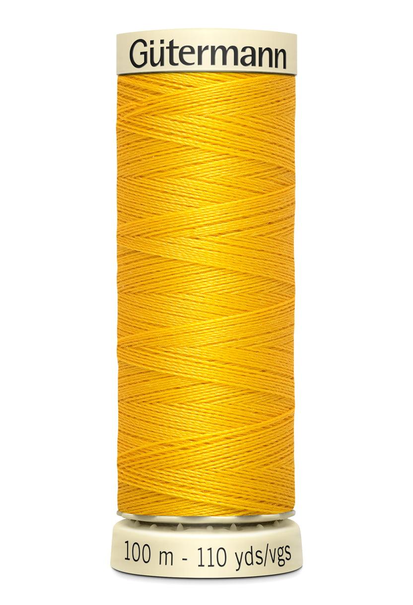 Gutermann Sew-All Polyester Thread 110yd Color 850 Goldenrod by Gutermann-Thread