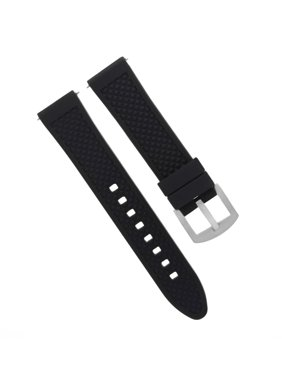 e344b779c Product Image 20MM SILICONE RUBBER DIVER BAND STRAP FOR TISSOT PRC200  PRS516 RACING BLACK 10P