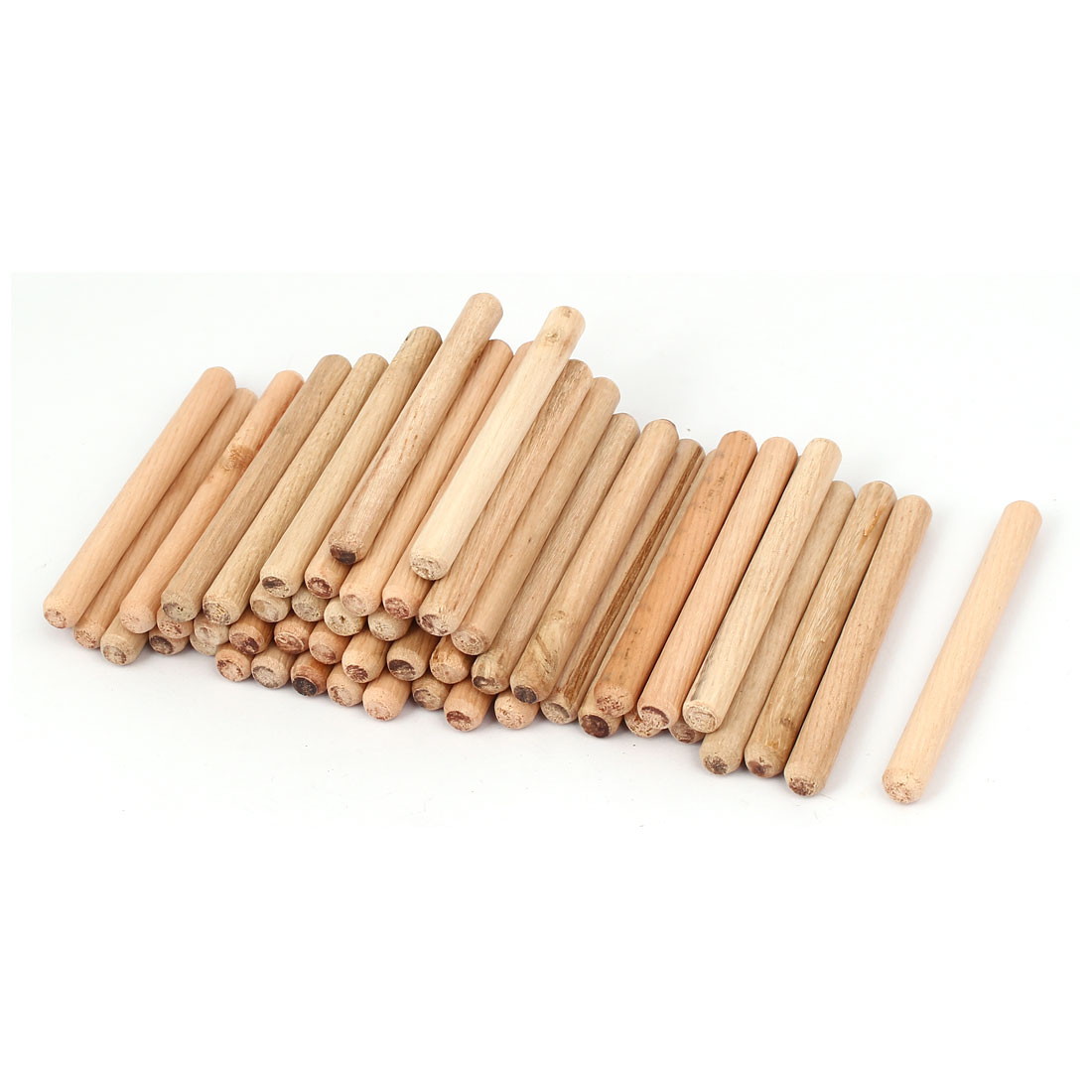 Fluted Wooden Dowels Pins Woodworking Craft Cabinet Make Dowels Materials CB