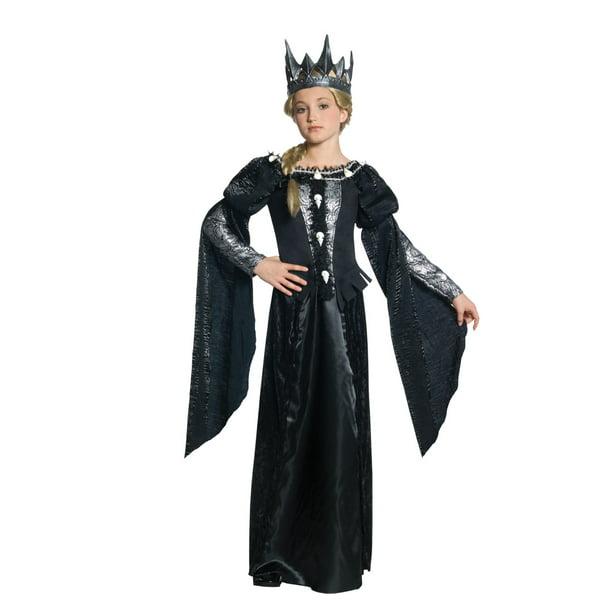 Snow White The Huntsman Queen Ravenna Costume Tween Walmart Com Walmart Com