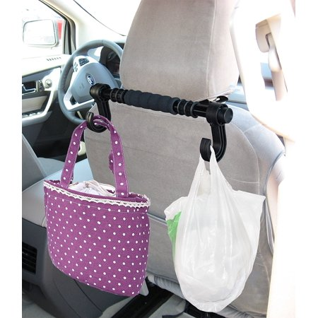 - LavoHome Universal Headrest Hanger Storage Hooks Premium Car Truck - Grocery Bag Purse Handbag Holder Hook