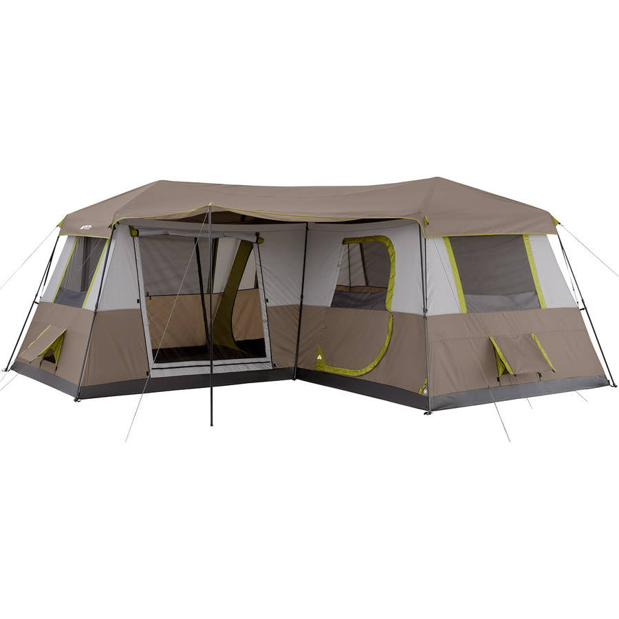 Click here to buy Ozark Trail 16x16 Instant Cabin Tent Sleeps 12 by Bohemian Travel Gear Limited.