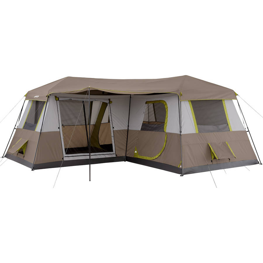 Ozark Trail 16x16 Instant Cabin Tent Sleeps 12  sc 1 st  AAA Discounts and Rewards & Ozark Trail Instant Tent Cot with Rainfly Sleeps 1 - AAA ...