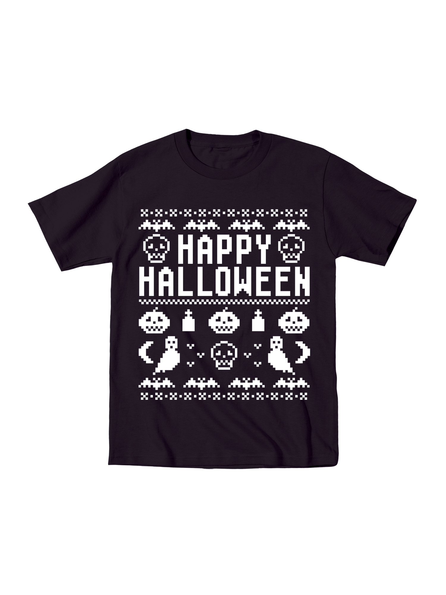 Happy Halloween -CUTE TODDLER SHORT SLEEVE TEE-4T